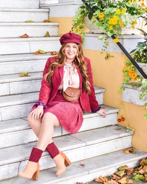 Как пышечке носить берет и выглядеть стильно этой осенью: 7 ярких идей