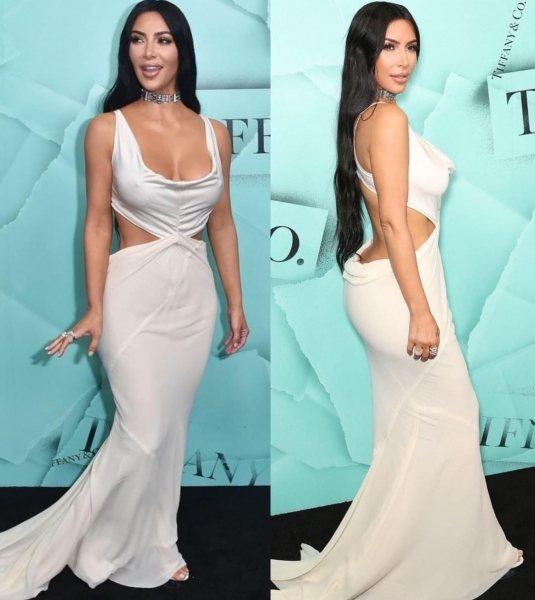 Ким Кардашьян похудела и показала новые формы в новом платье — придется попотеть, чтобы повторить