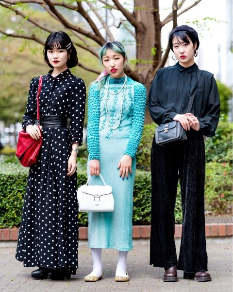 Вот как ходят обычные люди в Токио, и это не Недели Мод